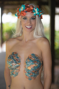 Self Sticking Mermaid Bra