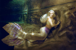 Silicone mermaid tails for modelling underwater - European Mermaid Tail Creator