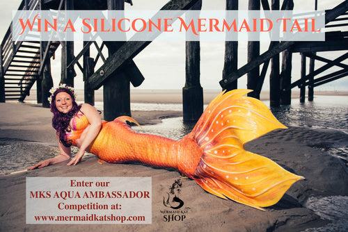 Silicone mermaid tail sponsorship - Win a tail