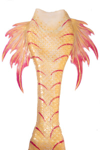 Silicone mermaid tail with Princess Pectoral Fins - Mermaid Kat Shop
