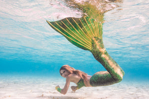 Silicone tails for mermaids in Europe
