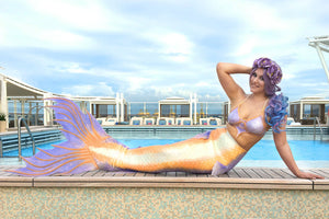Used Silicone Mermaid Tail with Top - Mermaid Kat Shop