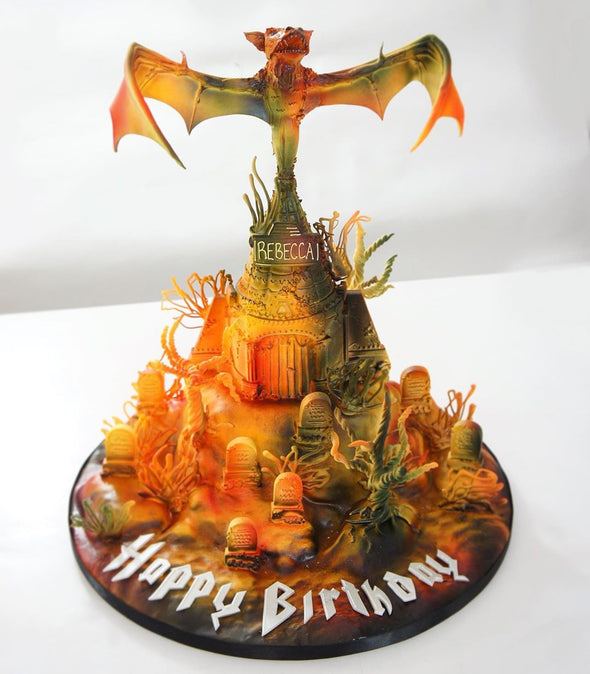 Bat Out Of Hell Cake - Tuck Box Cakes