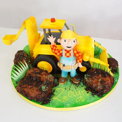 Bob the builder - Tuck Box Cakes