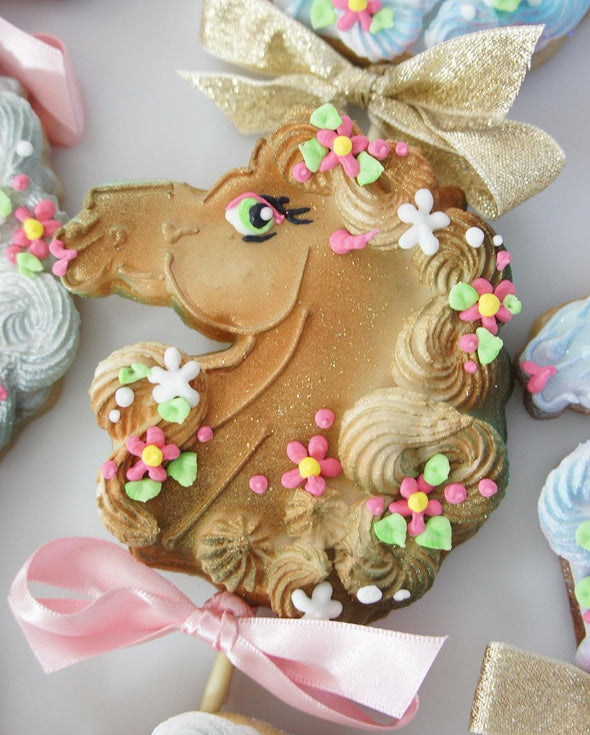 Horse Cookie Pops - Tuck Box Cakes