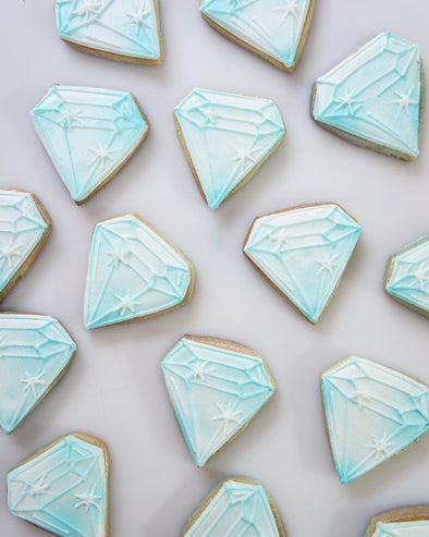 Diamond Cookies - Tuck Box Cakes