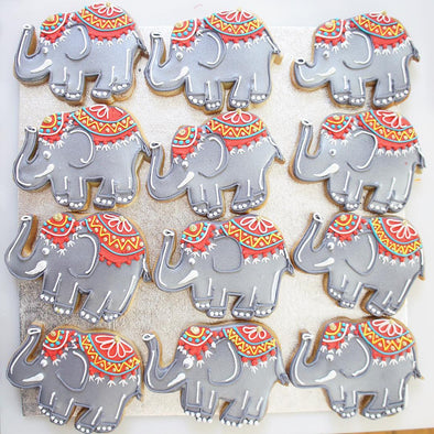 Elephant Cookie - Tuck Box Cakes