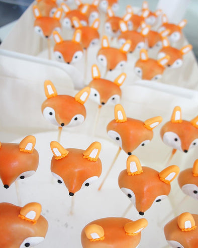 Fox Cake Pops - Tuck Box Cakes
