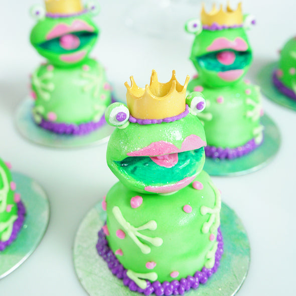 Kiss The Frog Cakes - Tuck Box Cakes