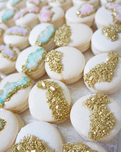 Geode Macarons - Tuck Box Cakes