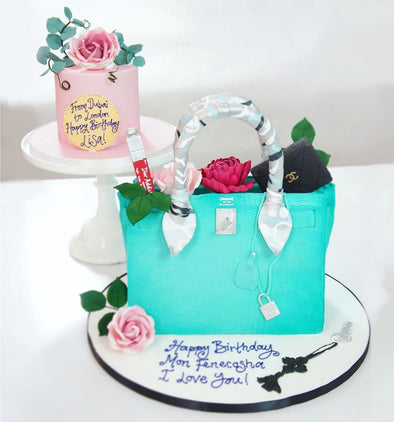 Handbag Cake - Tuck Box Cakes