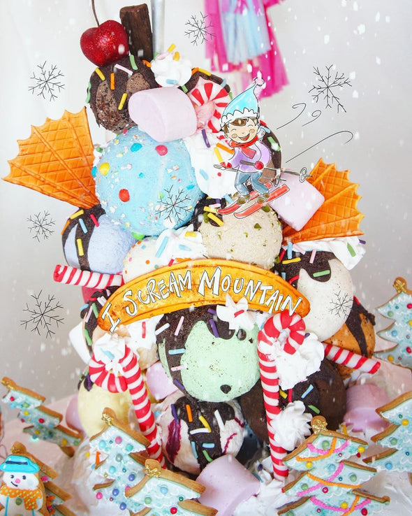 Ice-cream Mountain Cake - Tuck Box Cakes