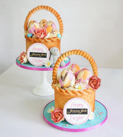 Easter Basket Cake - Tuck Box Cakes