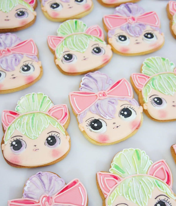 LOL Face Cookies - Tuck Box Cakes