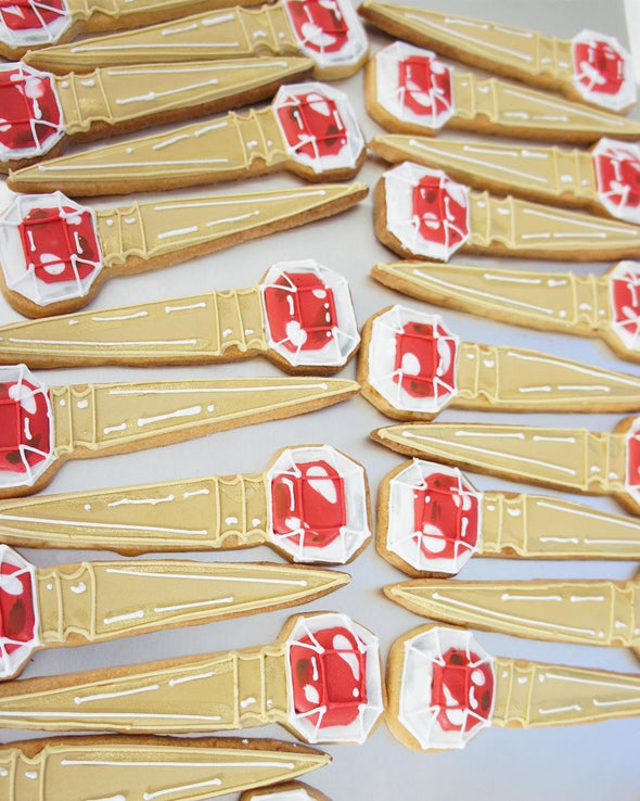 Louboutin makeup cookies