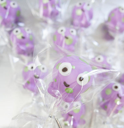 Octopus cake pops - Tuck Box Cakes
