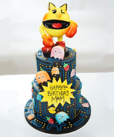 Pac Man Cake - Tuck Box Cakes