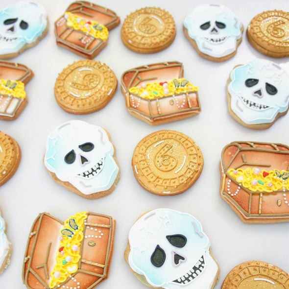Pirate Party Cookies - Tuck Box Cakes