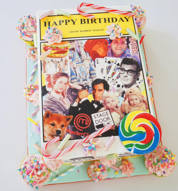 Edible Print Sheet Cake - Tuck Box Cakes