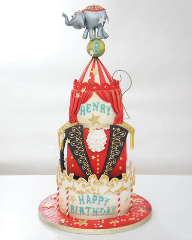 Ring master cake - Tuck Box Cakes