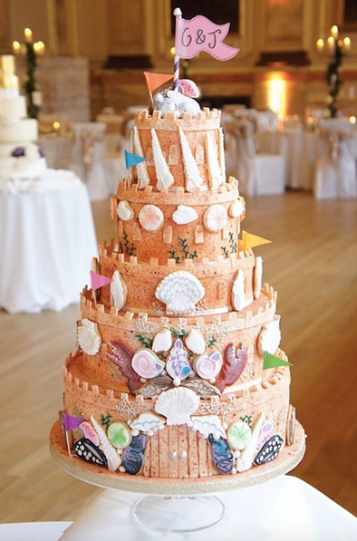 Sandcastle Cake - Tuck Box Cakes