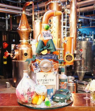 Sipsmith Cake