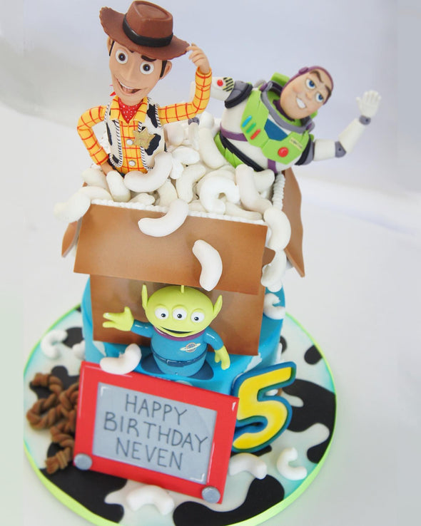 Toy Story Cake - Tuck Box Cakes