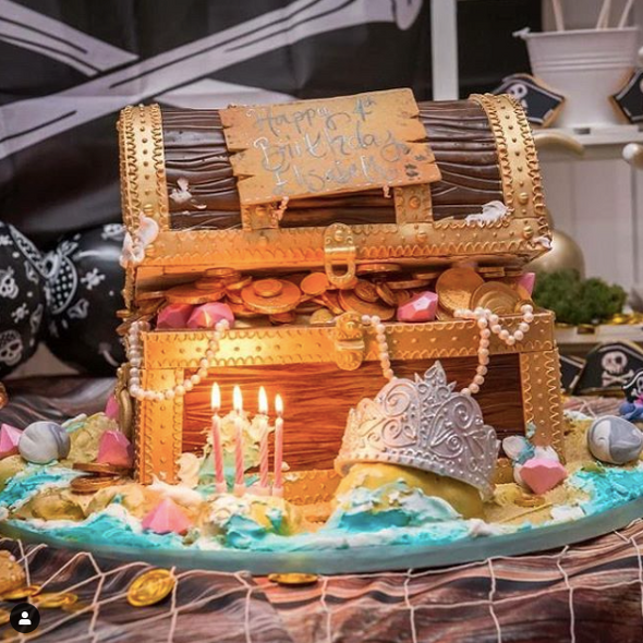 Treasure Chest Cake - Tuck Box Cakes