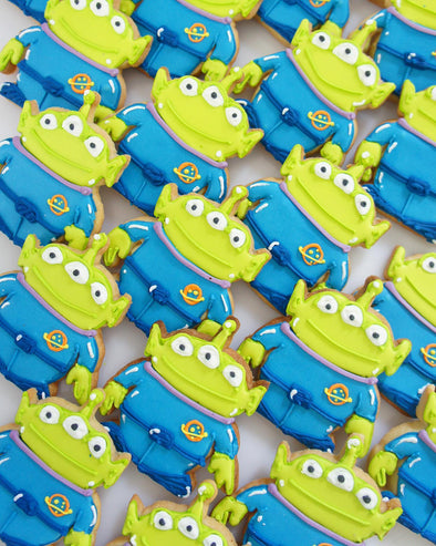 Toy Story Alien Cookies - Tuck Box Cakes
