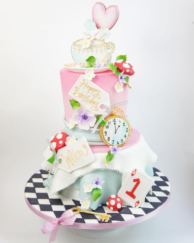 Mad hatter cake - Tuck Box Cakes