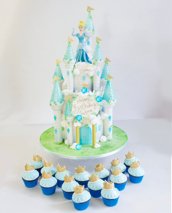 Blue Princess Castle