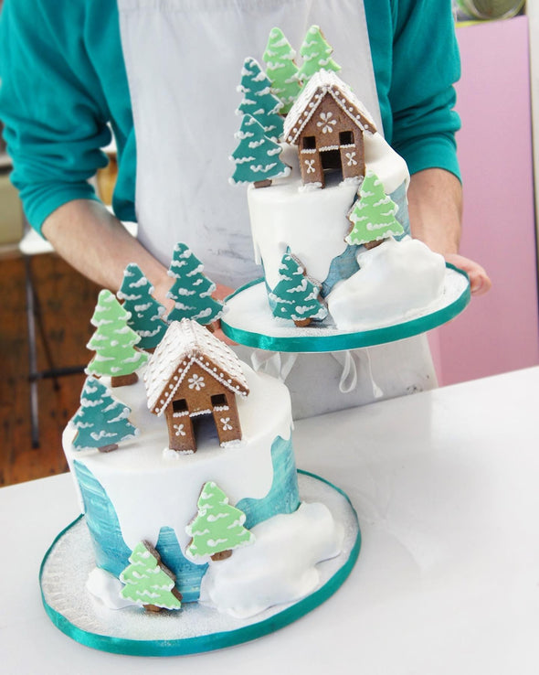 Christmas Forest Cake - Tuck Box Cakes