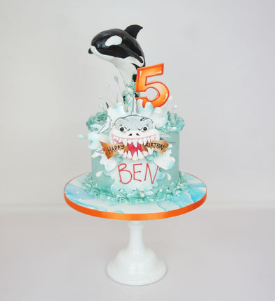 Free Willy Cake - Tuck Box Cakes