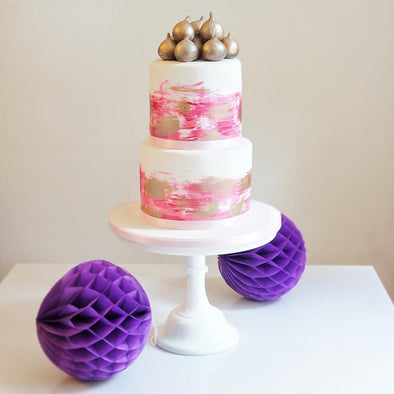Paint strokes and figs - Tuck Box Cakes