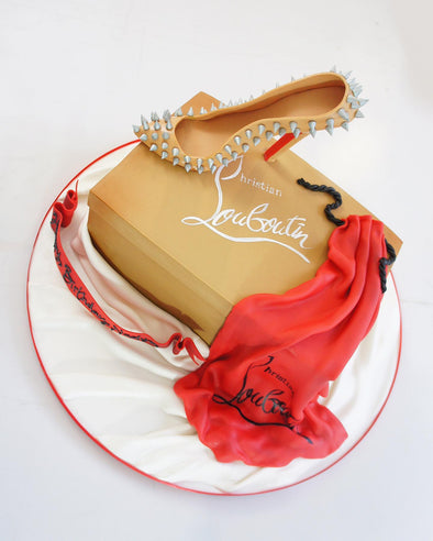 Louboutin Shoe And Box Cake - Tuck Box Cakes