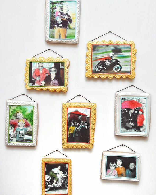 Memory Frame Cookies - Tuck Box Cakes