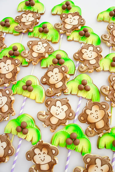 Cheeky monkey cookies