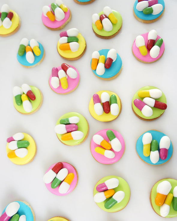 Pill Cookies - Tuck Box Cakes