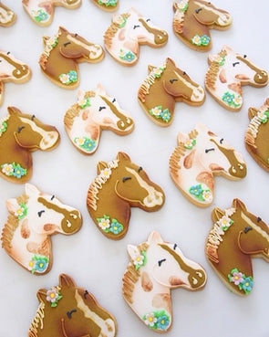 Pony Cookies - Tuck Box Cakes
