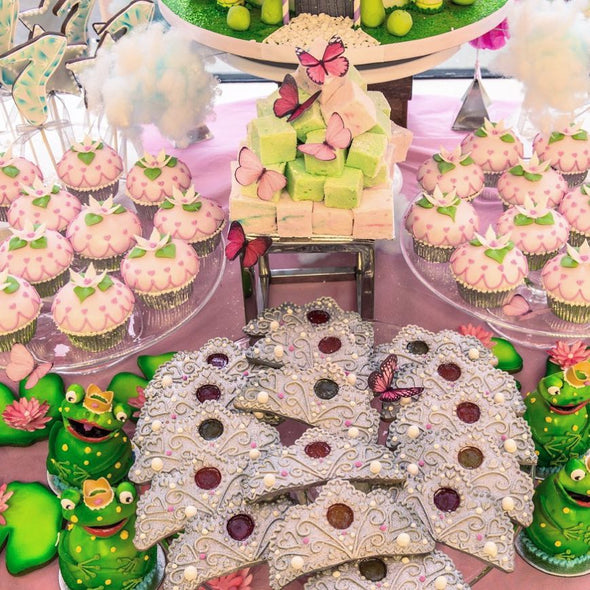 Princess dessert tables