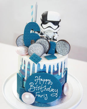 Star Wars Drip Cake - Tuck Box Cakes