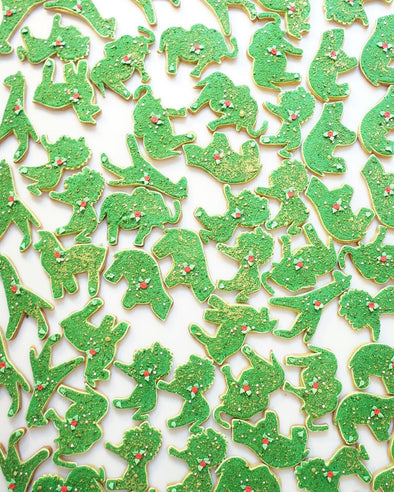 Topiary Animal Cookies - Tuck Box Cakes
