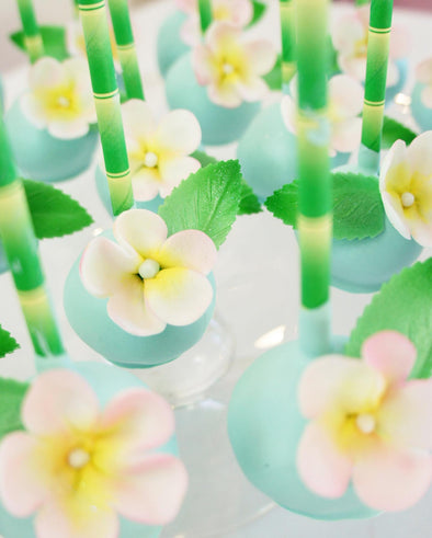 Tropical Cake Pops - Tuck Box Cakes