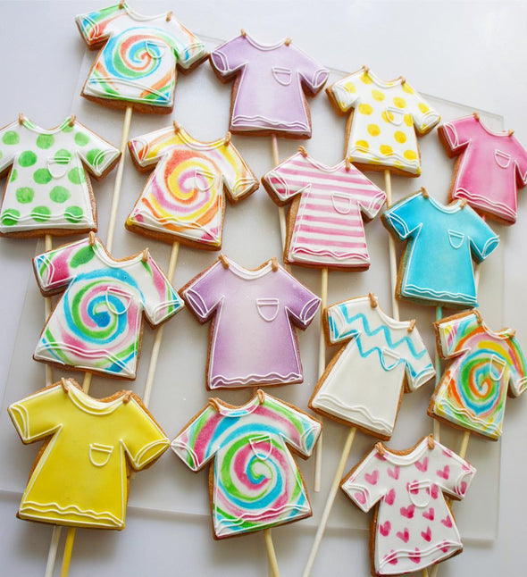 T-Shirt Cookies - Tuck Box Cakes
