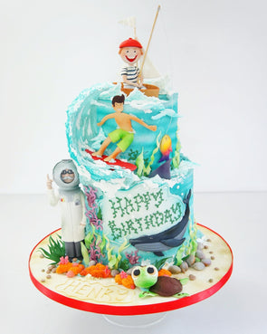 Under The Sea Cake - Tuck Box Cakes