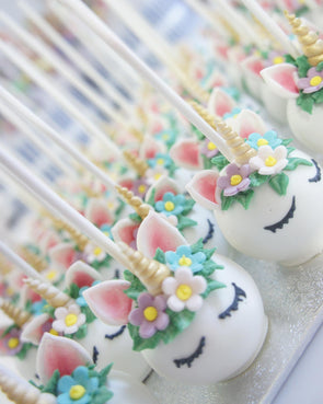 Unicorn Cake Pops - Tuck Box Cakes