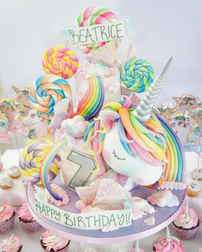 Unicorn Cake - Tuck Box Cakes