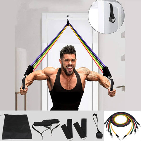 Elastic Resistance Bands for good workout