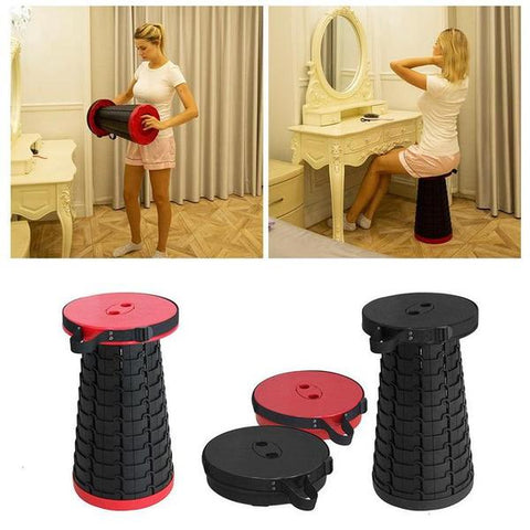 Foldable Telescopic Stools for everyday and anywhere