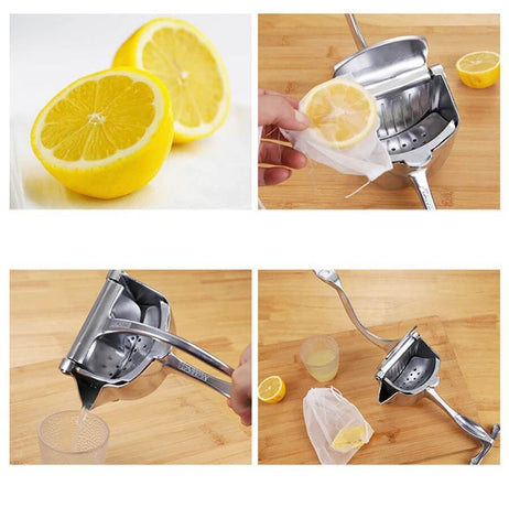 Lemon squeezer at home